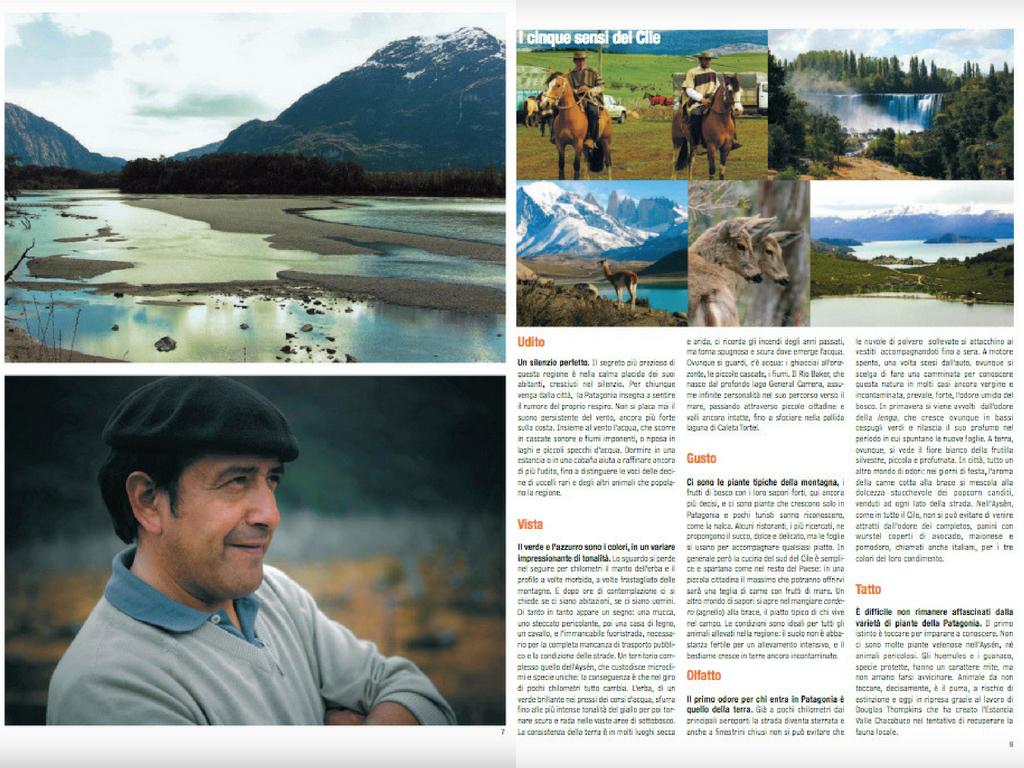 Acqua di Patagonia Camilla Martini per Peacereporter Dicembre 2010 #3 Tearsheets