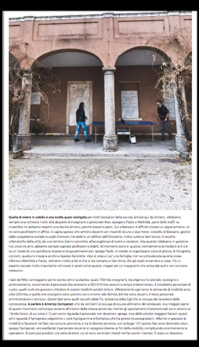 Ritorno a Eboli Fotografie Camilla Martini per LeStraniere su U!Magazine nr.3 #2