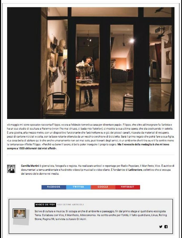 Ritorno a Eboli Fotografie Camilla Martini su U!Magazine nr.3 #4