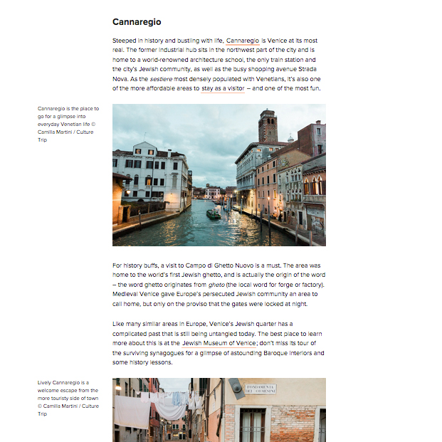 Tearsheets Culture Trip