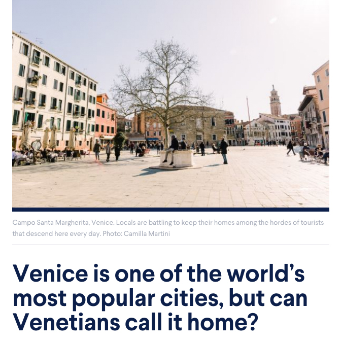 Tearsheets _Domain Venice is one of the world's most popular cities, but can Venetians call it home? _ Photographs by Camilla Martini-1
